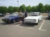 Renault 10 Major (blanche) et Renault 15